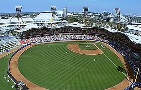 Het Sydney Baseball Stadium.