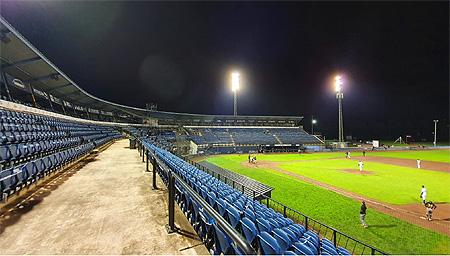 Ook de tweede wedstrijd van de Holland Series werd gespeeld voor lege tribunes.