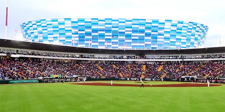Estadio de Béisbol Hermanos Serdán in Puebla.