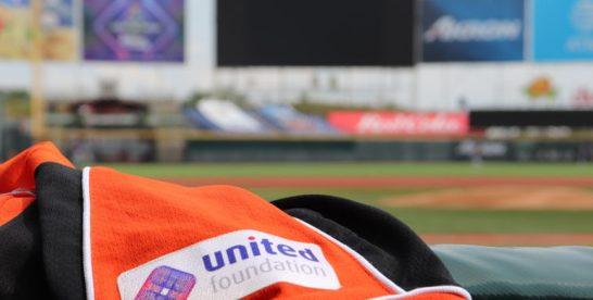 United Foundation shirtsponsor van Koninkrijksteam op het OKT